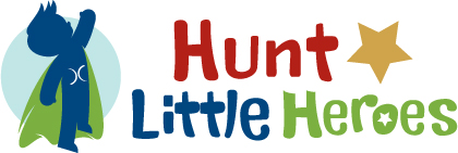 Hunt Little Heroes logo